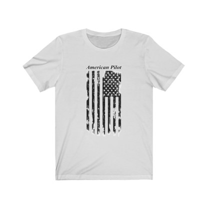 airplaneTees American Pilot Tee - Unisex Jersey Short Sleeve 3