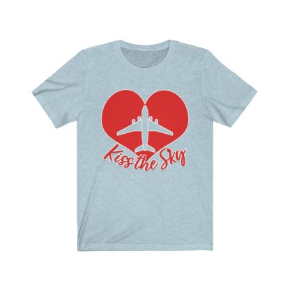 airplaneTees Kiss the Sky - Unisex Jersey Short Sleeve Tee 6