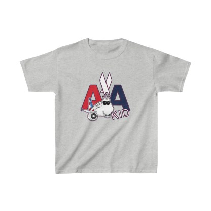 airplaneTees AA Kid Youth Tee Airbus... Kids Heavy Cotton™ 7