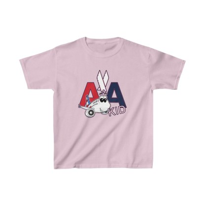 airplaneTees AA Kid Youth Tee Airbus... Kids Heavy Cotton™ 1