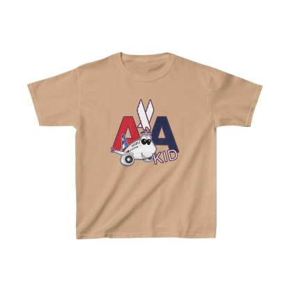 airplaneTees AA Kid Youth Tee Airbus... Kids Heavy Cotton™ 5