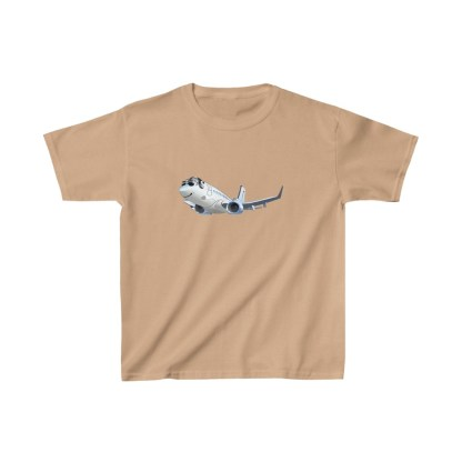 airplaneTees Happy 737 Kids Heavy Cotton™ Tee 5