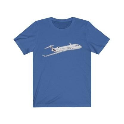 airplaneTees AA CRJ Tee / PSA CRJ Tee... Unisex Jersey Short Sleeve 7