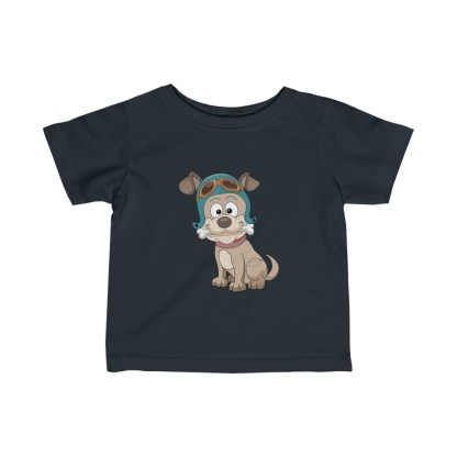 airplaneTees Doggie Pilot Infant Tee... Fine Jersey 5