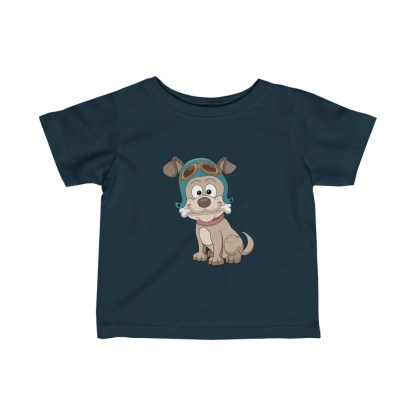 airplaneTees Doggie Pilot Infant Tee... Fine Jersey 6