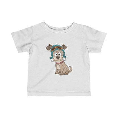 airplaneTees Doggie Pilot Infant Tee... Fine Jersey 2