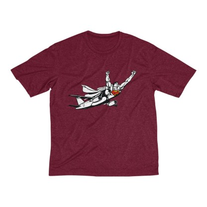 airplaneTees SuperPlane Tee... Men's Heather Dri-Fit 11