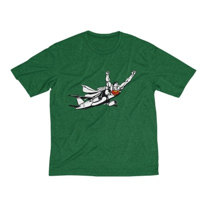 airplaneTees SuperPlane Tee... Men's Heather Dri-Fit 6