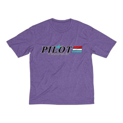 airplaneTees GI Pilot Tee... Men's Heather Dri-Fit 10