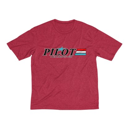 airplaneTees GI Pilot Tee... Men's Heather Dri-Fit 12