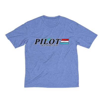 airplaneTees GI Pilot Tee... Men's Heather Dri-Fit 6