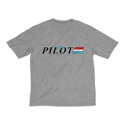 airplaneTees GI Pilot Tee... Men's Heather Dri-Fit 2