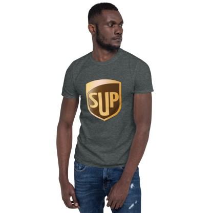 airplaneTees SUP Tee... Short-Sleeve Unisex... UPS Parody Tee 13