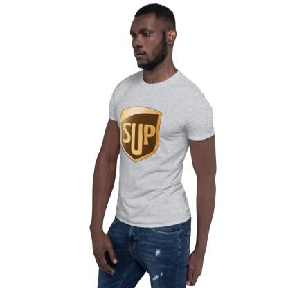 airplaneTees SUP Tee... Short-Sleeve Unisex... UPS Parody Tee 18