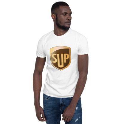 airplaneTees SUP Tee... Short-Sleeve Unisex... UPS Parody Tee 5