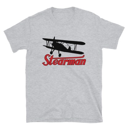 airplaneTees Stearman Tee... Short-Sleeve Unisex 1