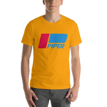 airplaneTees Piper logo tee... Short-Sleeve Unisex 13