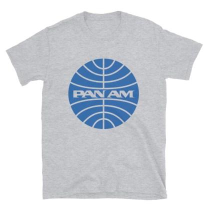 airplaneTees Pan Am Logo Tee... Short-Sleeve Unisex 1