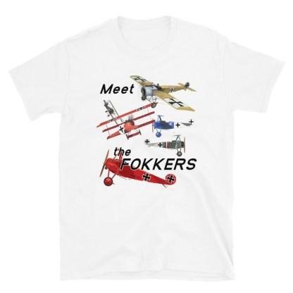 airplaneTees Meet the Fokkers Tee... Short-Sleeve Unisex 5