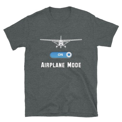 airplaneTees GA Airplane Mode Tee... Short-Sleeve Unisex T-Shirt 7
