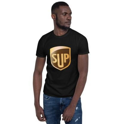 airplaneTees SUP Tee... Short-Sleeve Unisex... UPS Parody Tee 8