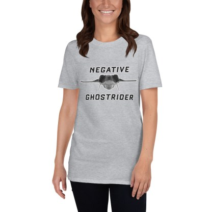 airplaneTees Negative Ghostrider Tee... Short-Sleeve Unisex 4