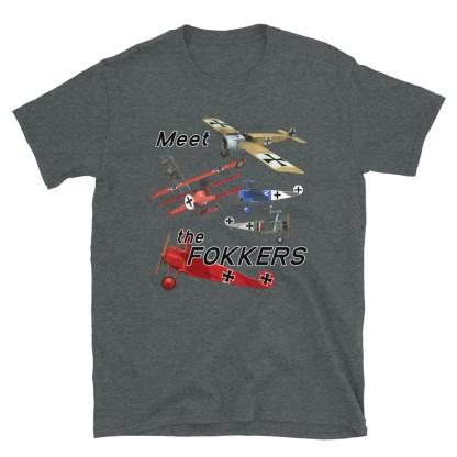 airplaneTees Meet the Fokkers Tee... Short-Sleeve Unisex 8