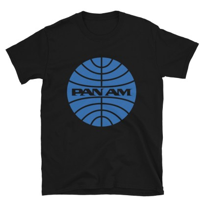 airplaneTees Pan Am Logo Tee... Short-Sleeve Unisex 6