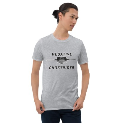 airplaneTees Negative Ghostrider Tee... Short-Sleeve Unisex 3