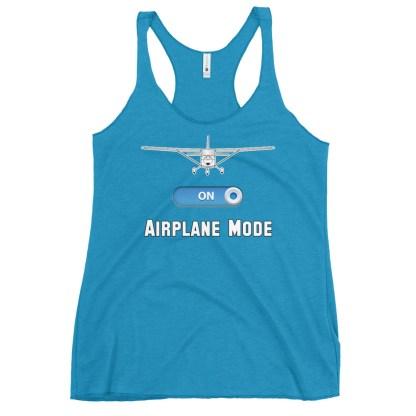 airplaneTees GA Airplane Mode tank top... Women's Racerback 14