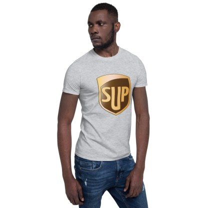airplaneTees SUP Tee... Short-Sleeve Unisex... UPS Parody Tee 17