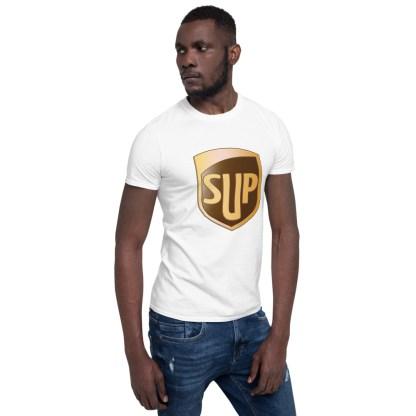 airplaneTees SUP Tee... Short-Sleeve Unisex... UPS Parody Tee 6