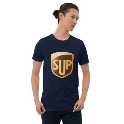 airplaneTees SUP Tee... Short-Sleeve Unisex... UPS Parody Tee 4