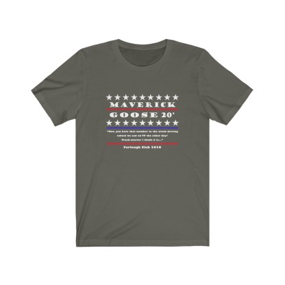 airplaneTees Maverick and Goose 2020 Tee... Unisex Jersey Short Sleeve 3