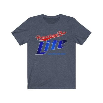 airplaneTees American Air Lite Tee... Unisex Jersey Short Sleeve 13