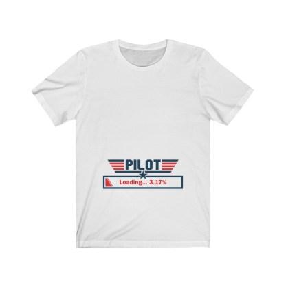 airplaneTees Preggo Pilot Tee... Unisex Jersey Short Sleeve 2