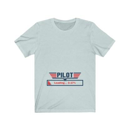 airplaneTees Preggo Pilot Tee... Unisex Jersey Short Sleeve 7