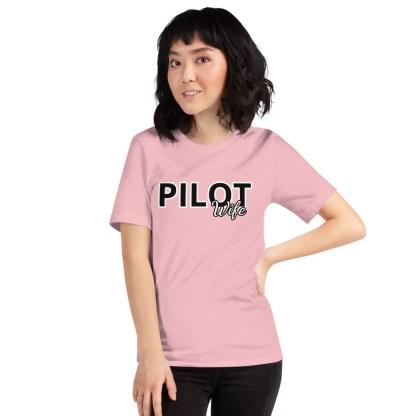 airplaneTees Custom Pilot Wife Tee... Short-Sleeve Unisex 4