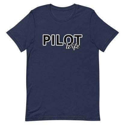 airplaneTees Custom Pilot Wife Tee... Short-Sleeve Unisex 8