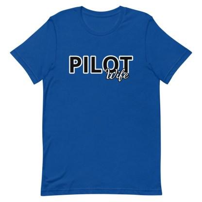 airplaneTees Custom Pilot Wife Tee... Short-Sleeve Unisex 11