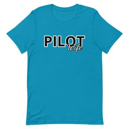 airplaneTees Custom Pilot Wife Tee... Short-Sleeve Unisex 12