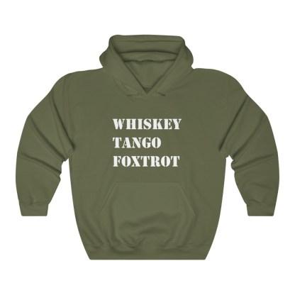 airplaneTees WTF Whiskey Tango Foxtrot Hoodie - Heavy Blend™ Hooded Sweatshirt 6