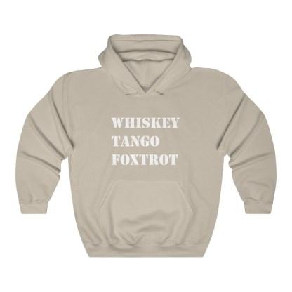 airplaneTees WTF Whiskey Tango Foxtrot Hoodie - Heavy Blend™ Hooded Sweatshirt 3