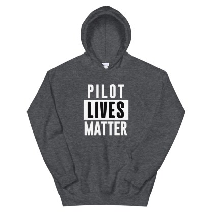airplaneTees Pilot lives matter Hoodie - Unisex 5