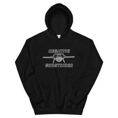 airplaneTees Negative Ghostrider Hoodie - Unisex 5