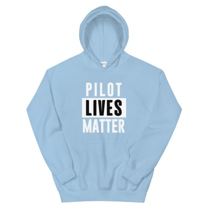 airplaneTees Pilot lives matter Hoodie - Unisex 9