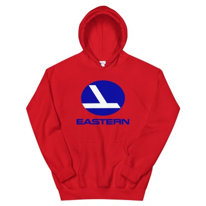 airplaneTees Eastern Airlines Logo Hoodie - Unisex 7