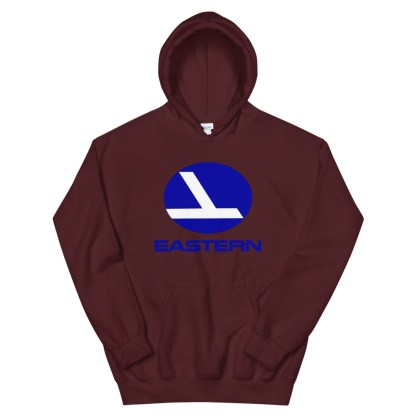 airplaneTees Eastern Airlines Logo Hoodie - Unisex 6