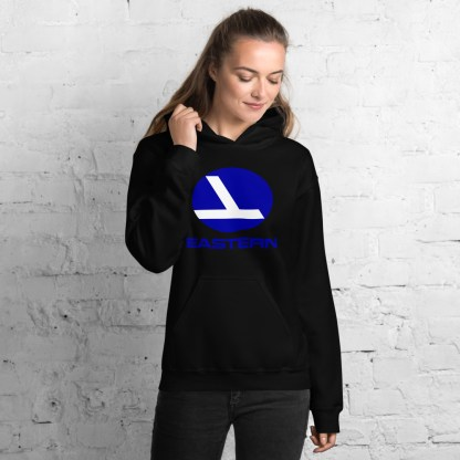 airplaneTees Eastern Airlines Logo Hoodie - Unisex 4