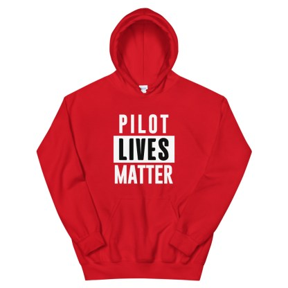 airplaneTees Pilot lives matter Hoodie - Unisex 4